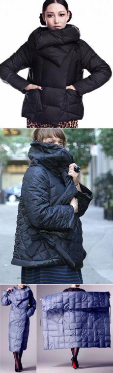 Шитье - Шитье верхней одежды - Стеганые прямоугольные куртки и пальто