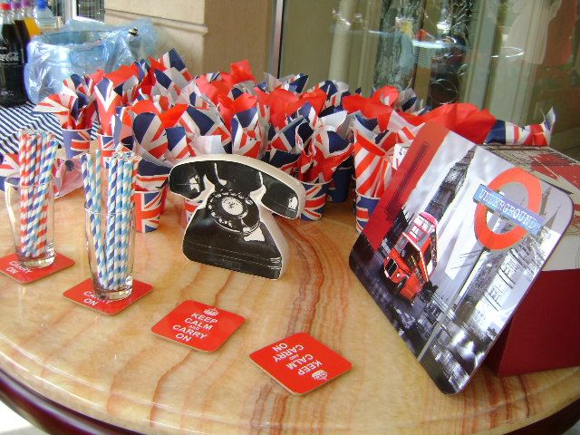 Bridal shower : British Royal Wedding #london #uk #theme