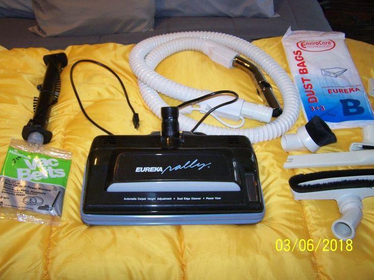 Eureka canister vacuum ( Vintage Eureka canister ) Eureka vacuum #EurekaElectrlux