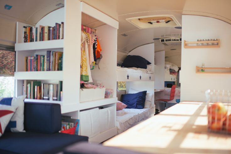 Living on a reconstructed school bus FAQ | The Big Blue Bus Tour