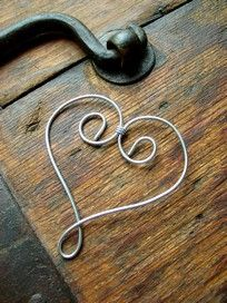 wire heart (step-by-step photos)