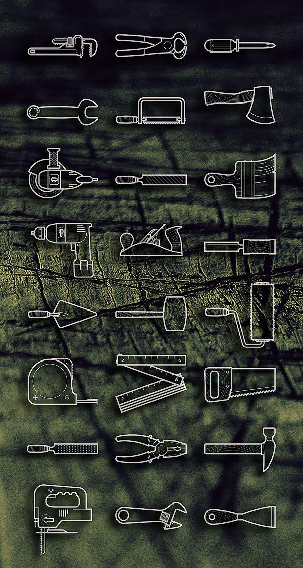 Free Tools icon set