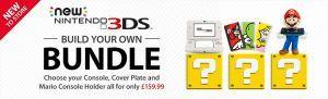 Nintendo UK online store offering 'build your own' New 3DS bundle