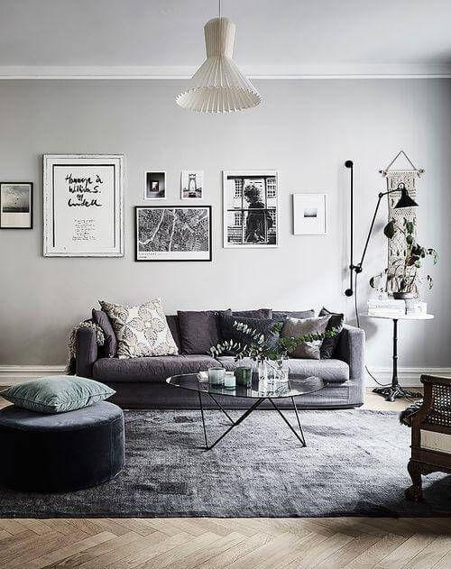 Wandgestaltung Grau: Auf was Sie achten sollten | Home decor ...