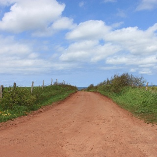 PEI red roads