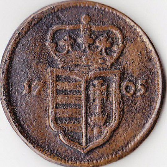 II. Rákóczi Ferenc korabeli poltura, a képeken látható állapotban eladó. Múzeumi másolat,kiállítási emlékként lehetett hozzájutni.