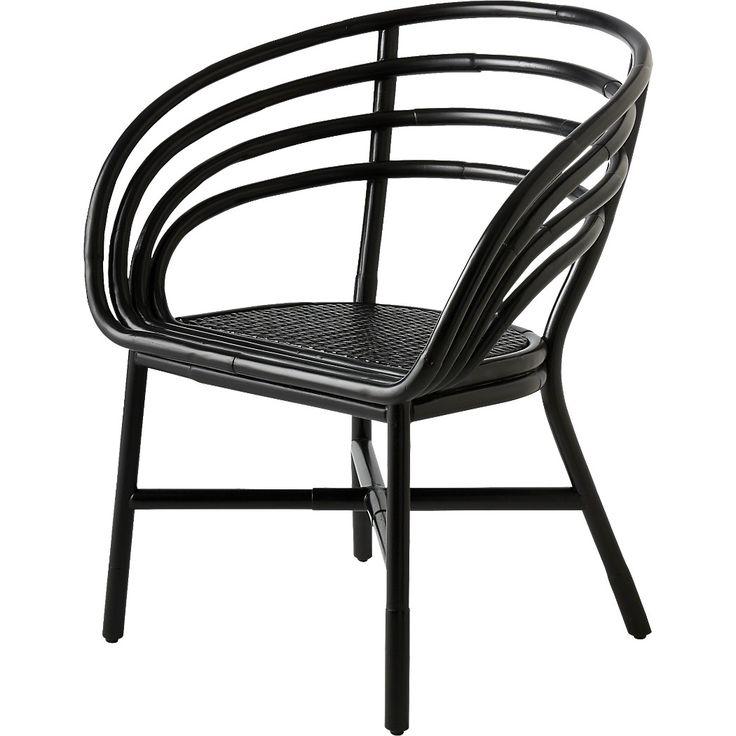 Market black rattan desk chair reviews cb2 chair