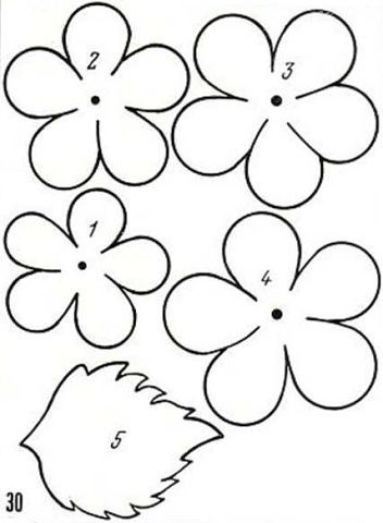 298 Best Images About Flower Templates On Pinterest