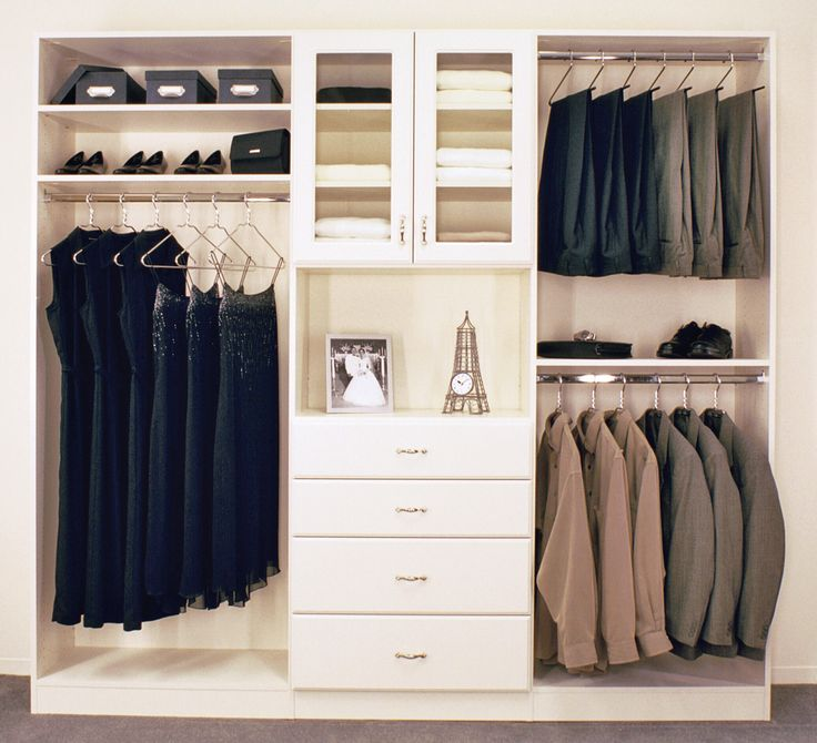 room closet ideas | Reach-In Closets -A well-designed reach-in closet can effectively help ...