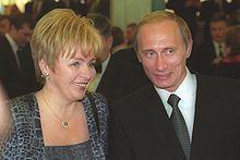 Lyudmila Putina -was wife of  Vladimir Putin