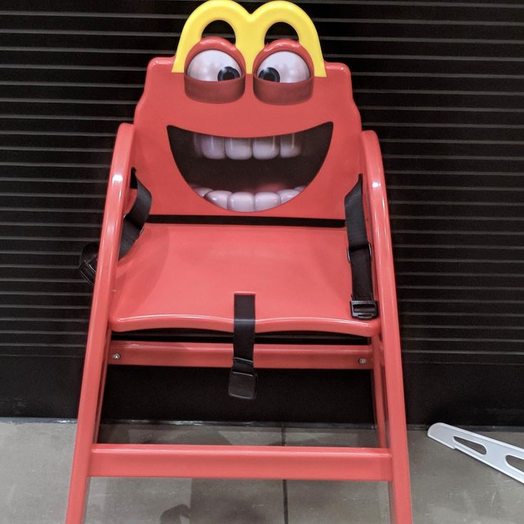 Do you think the McDonalds high chairs have good teeth