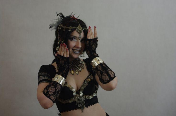 STOCK - Indian / Gothic temple dancer by Apsara-Art.deviantart.com on @deviantART