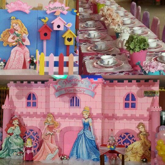 A princess birthday party by @wishmaster_eo at Namaste Restaurant Jakarta