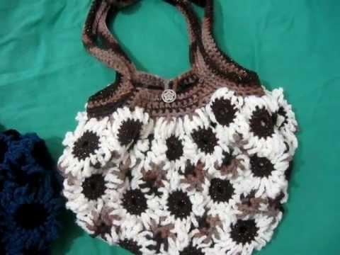 Crochet Flower Purse 3