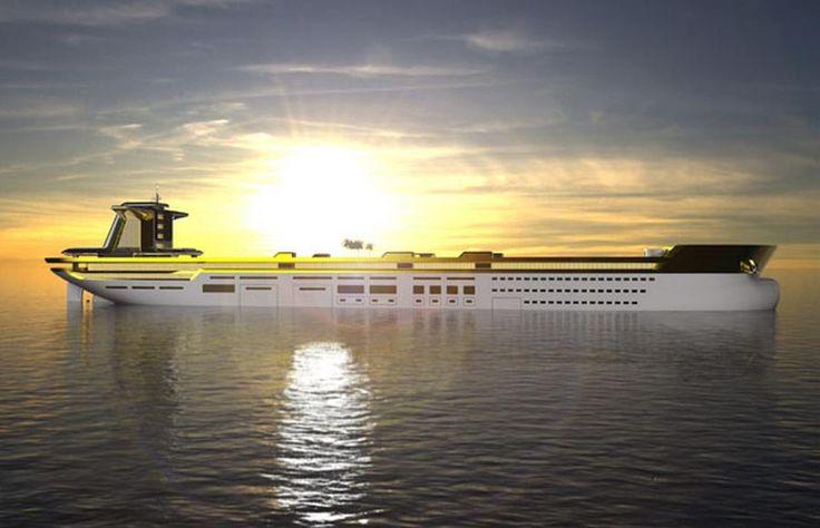 imara oil tanker turned yacht