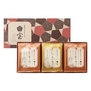 坂角三代目せんべい 五宝 1296円(税込)