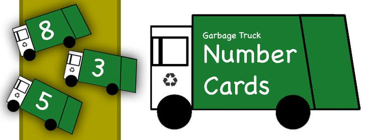Garbage Truck Number Recognition | Schoolhouse ToysSchoolhouse Toys