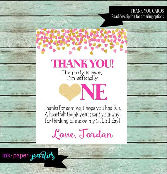 59 Best Kids Birthday Thank You Note Cards Images On