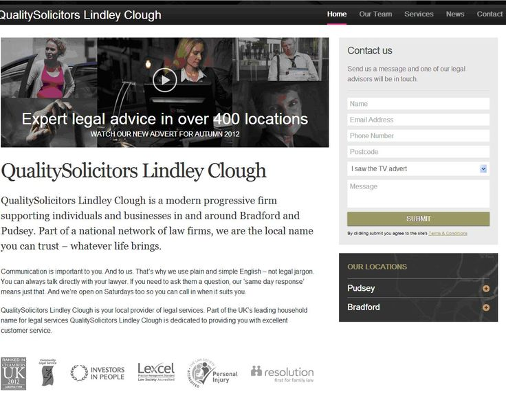 Lindley Clough - a quality firm and Investors in People