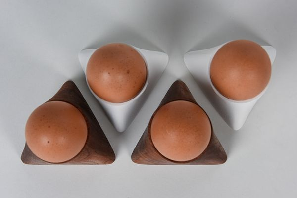 Egg Cups on Industrial Design Served