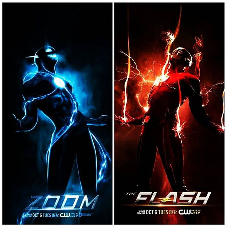 flash season 2. flash vs zoom