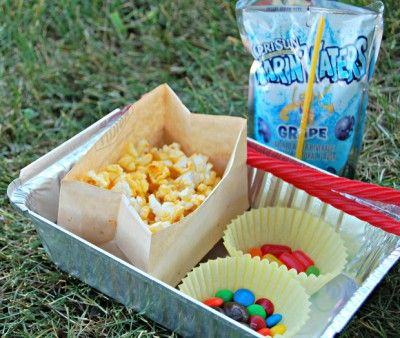 Drive-In Movie Snacks | Fun Family Crafts