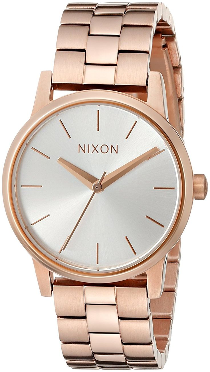 Nixon Women's Small Kensington Stainless Steel Watch * Want to know more about the watch, click on the image.