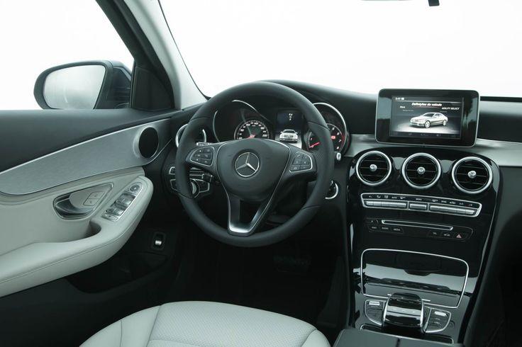 Mercedes-Benz C180 Avantgarde - interior