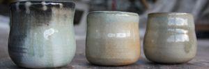 shino, saltglasering, tekopper, japansk keramik
