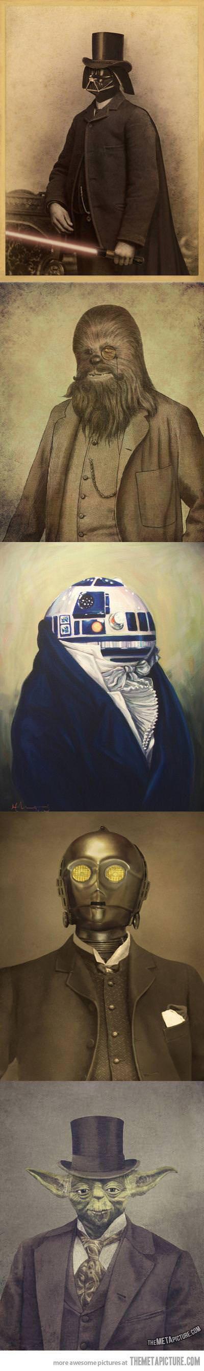 Star Wars like a sir…