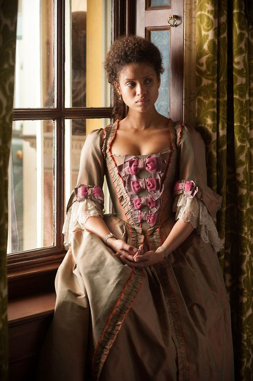 Gugu Mbatha-Raw in the title role ofBelle (2014). Also the inspiration for Isabelle Oddman