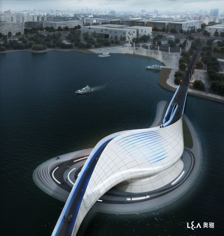 Wuxi Xidong Park Bridge / L Design Group