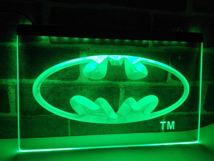 Details About Lc001 Batman Hero Man Cave Led Neon Light Sign Home Decor Crafts