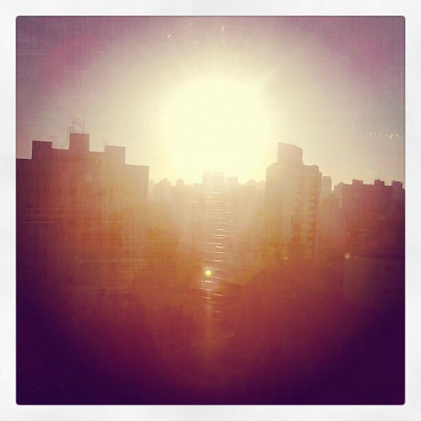 Sol de inverno sobre SP - @macfa40- #webstagram