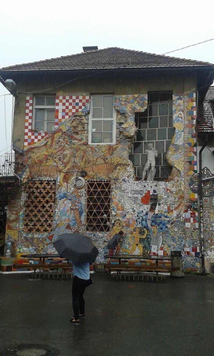 metelkova street, ljubljana