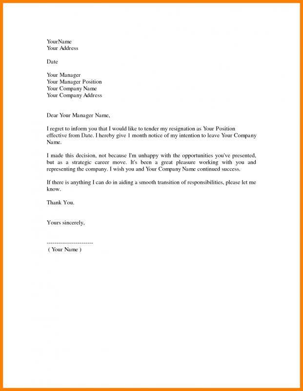 Nursing Resignation Letter Resignation Letters Resignation