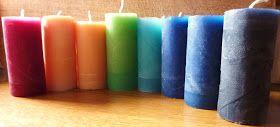 Zelf kaarsen maken in een wc rolletje. Heb echt zin om dit uit te proberen