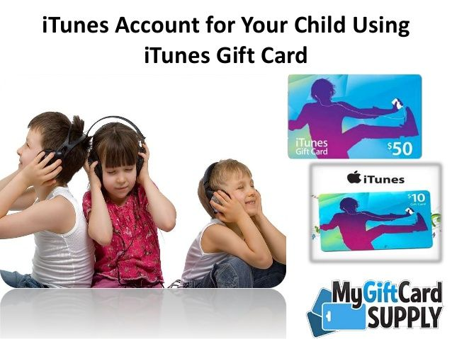 how to create itunes account for child