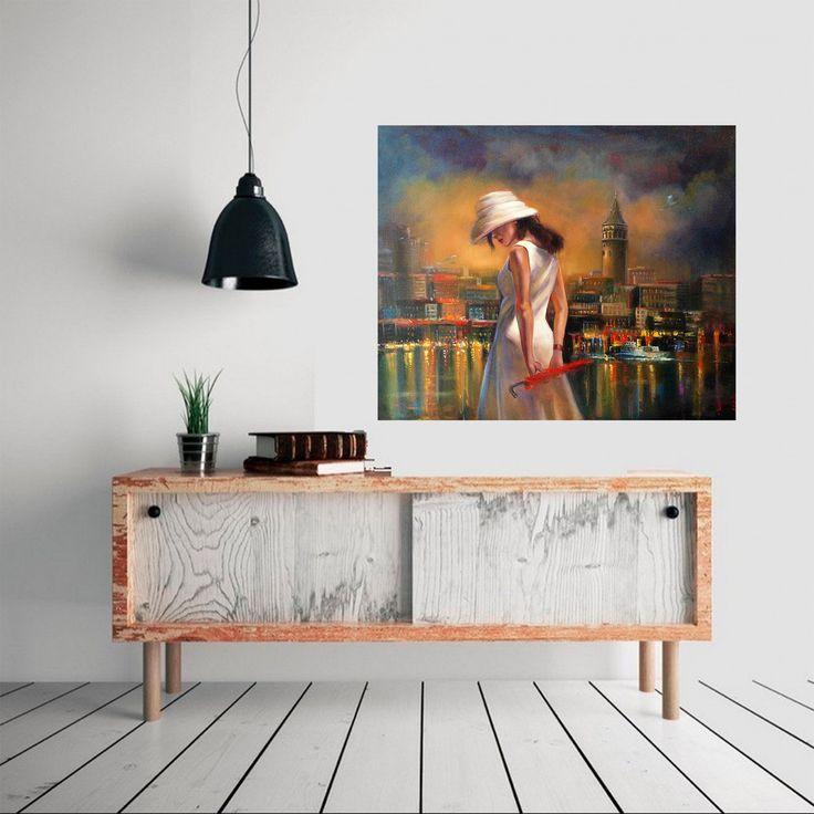 Galata by Elçin İskender #Tuval üzerine #YağlıBoya / #Oiloncanvas 100cm x 80cm  #gallerymak #sanat #sergi #ig_sanat #sergi #istanbul #galata #kadın #manzara #gununkaresi #sanatsal #sanatgalerisi #resimsergisi #cagdassanat #modernsanat #contemporaryart #modernart #oilpainting #painting #art #artlovers #artcollectors #artgallery #artsy #artbasel #turkiye #yagliboya