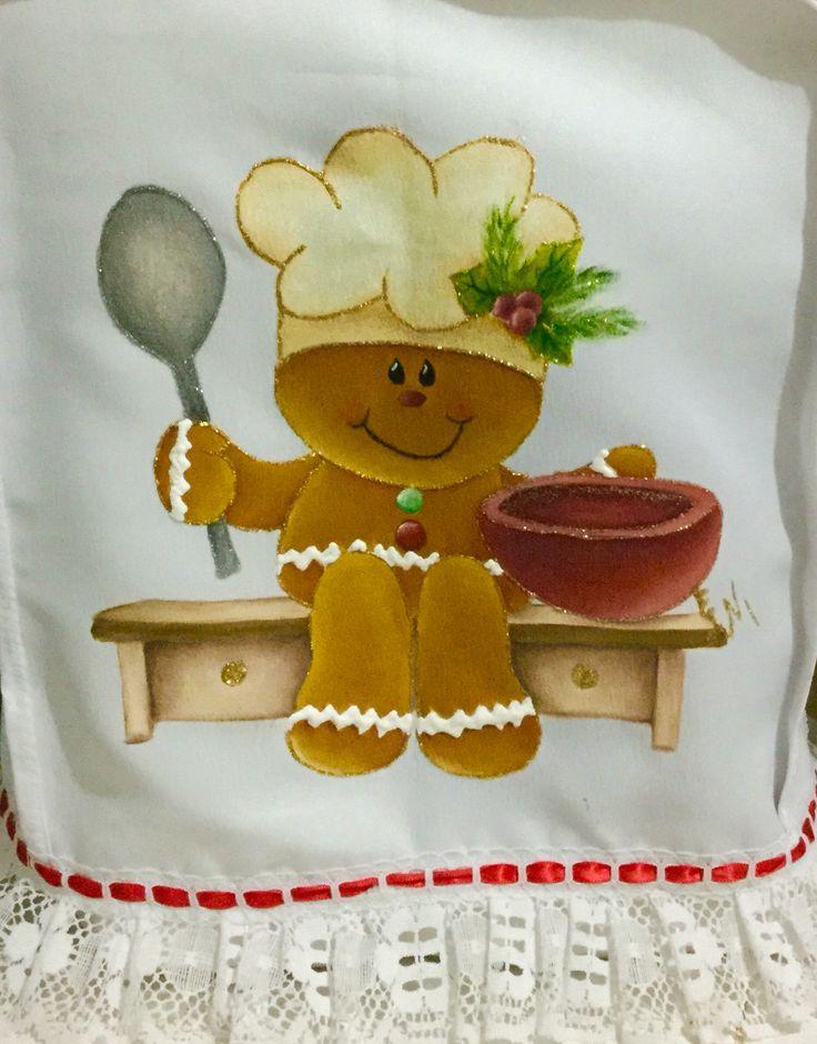 Motivo navide o mis trabajos en tecido pintura en tela - Motivos navidenos para pintar en tela ...