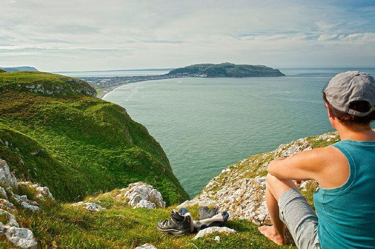 Cote Nord de la Wales Coastal Path, randonnée, Pays de Galles Visit Wales