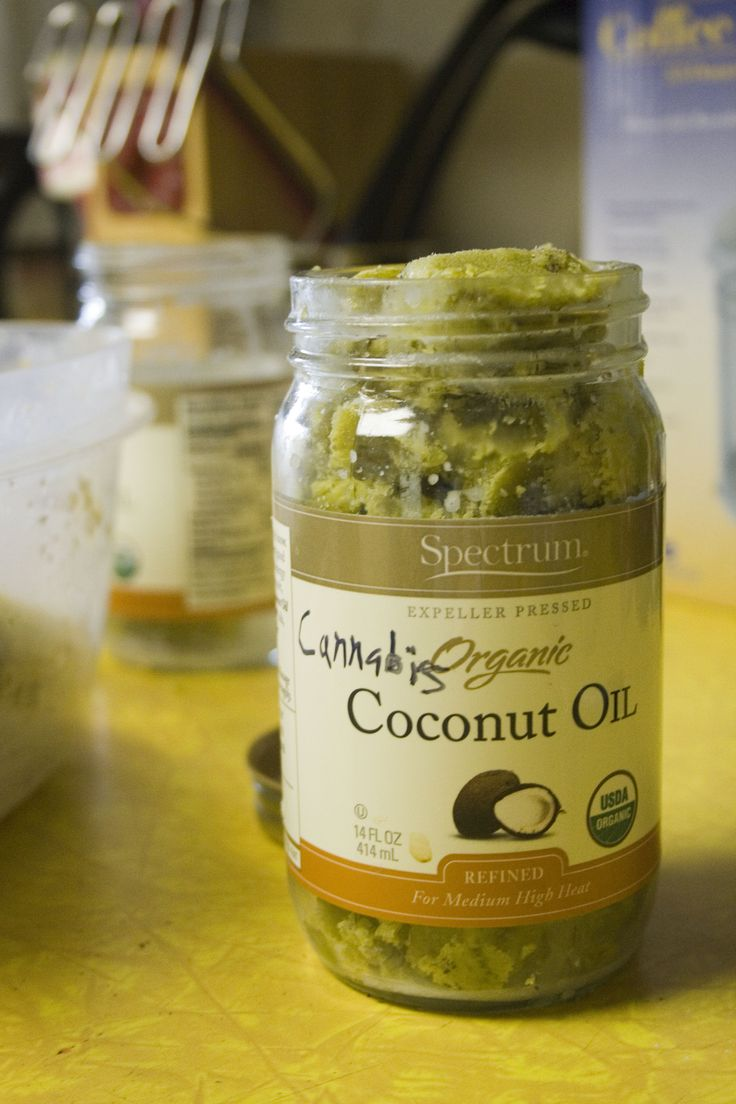 Cannabis coconut oil. Simple, stove-top method (no double boiler)