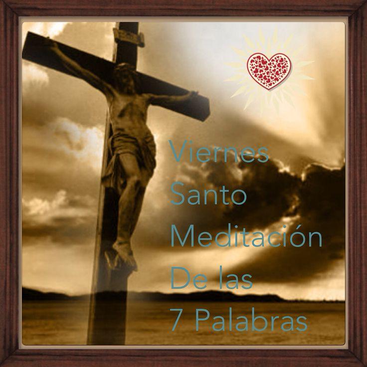 Feliz Viernes Santo  Meditación de las 7 Palabras ☀️ https://instagram.com/p/BDYiOmiCZ_j/