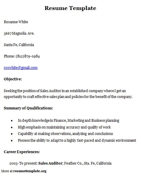 The 25+ best Sample resume cover letter ideas on Pinterest - sample resume for jobs
