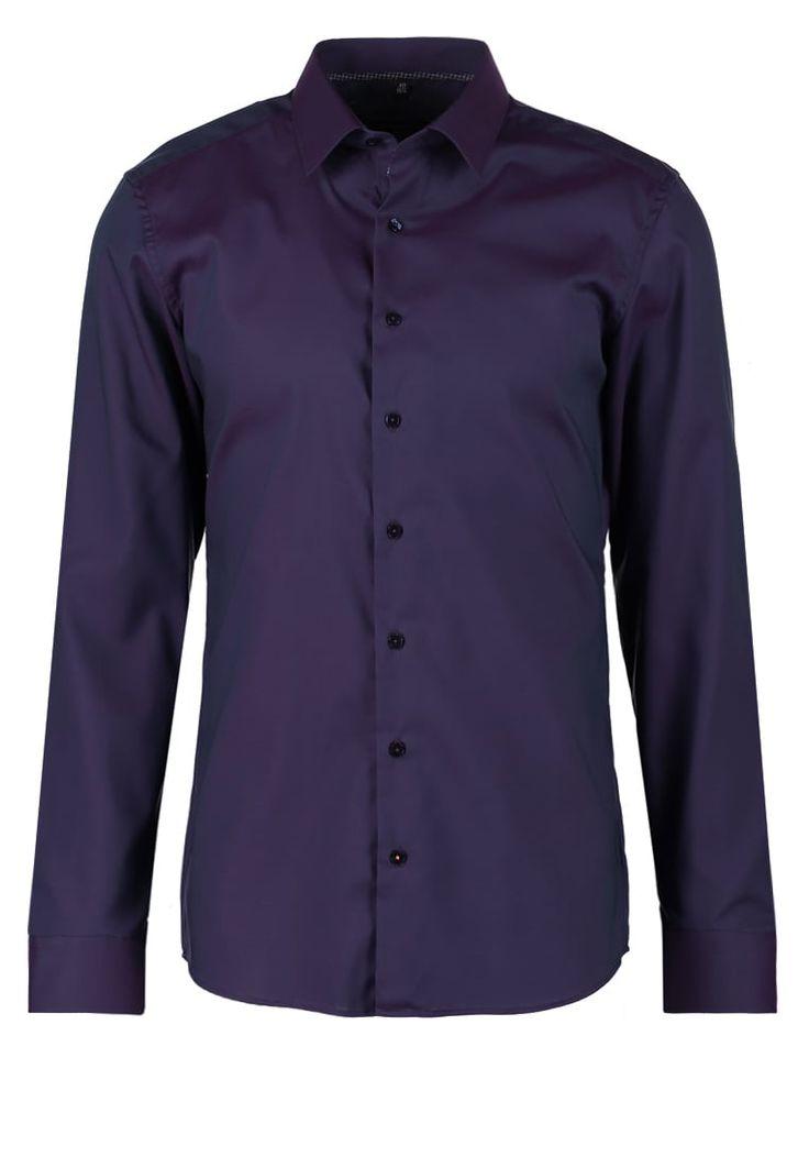 Eterna SLIM FIT Koszula biznesowa purlpe