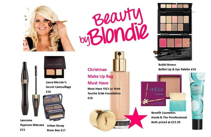 Beauty by Blondie for House of Fraser beauty blogger competition