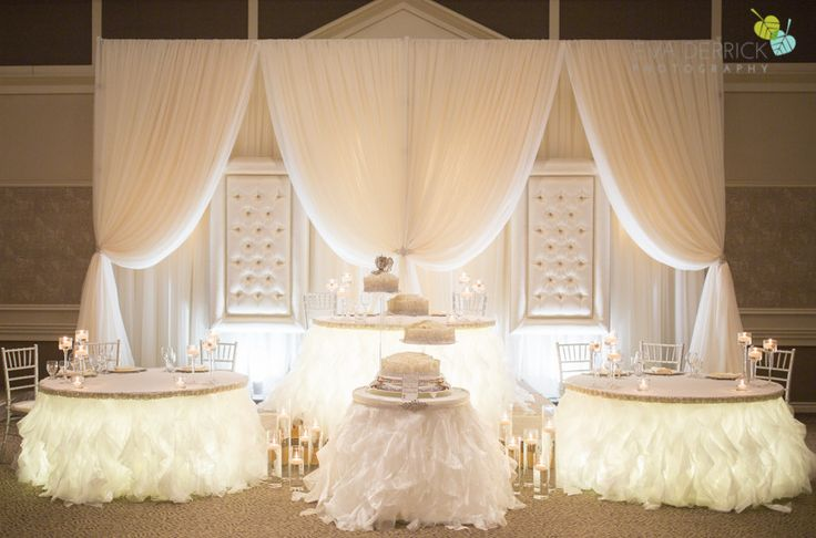 Head Table Decorations Wedding Reception Wedding Dress: 17 Best Images About EVENT DRAPES On Pinterest