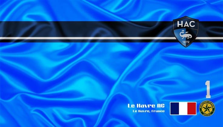 Le Havre AC - Veja mais e baixe de graça em nosso Blog  http://soccerflags.blogspot.com.br