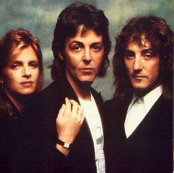Linda McCartney, Paul McCartney, Denny Laine - WINGS