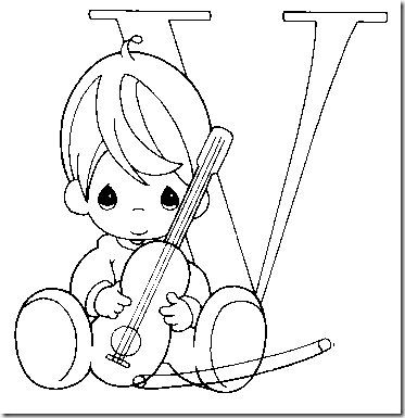 33 best precious moments alphabet coloring pages images on